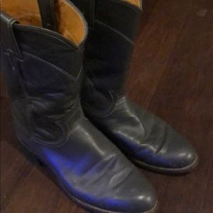 Justin grey size 6 1/2 boots